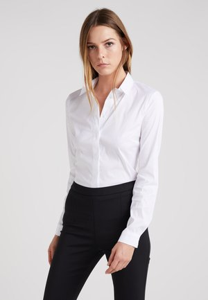 Button-down blouse - bianco