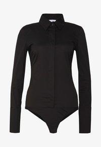 Patrizia Pepe - CARRY OVER - Button-down blouse - nero - 5