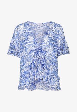 CAMICIA - Bluser - blue/white