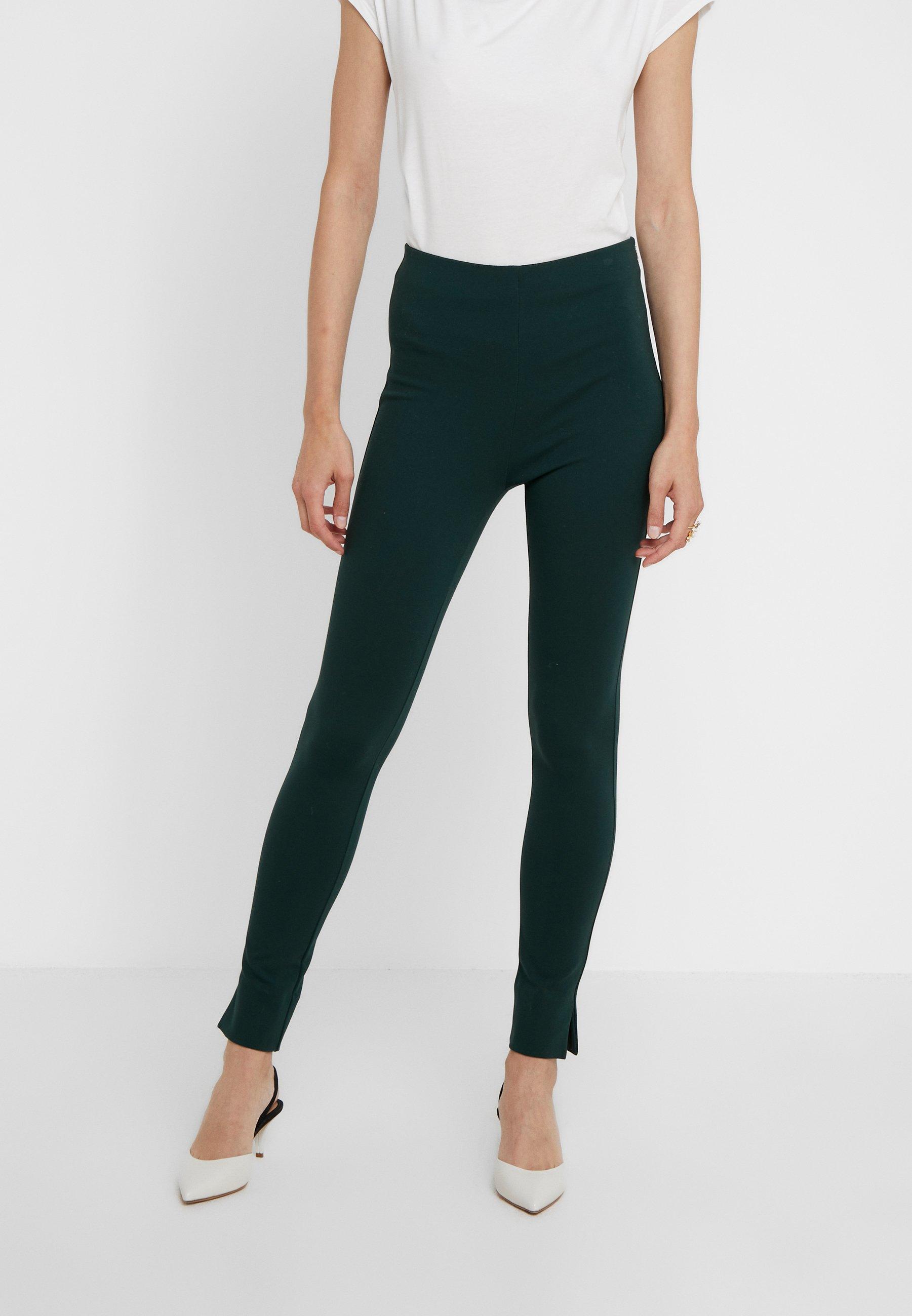 TrousersLegging Green Patrizia Pepe Pantaloni Dark ZTlwOuXPki