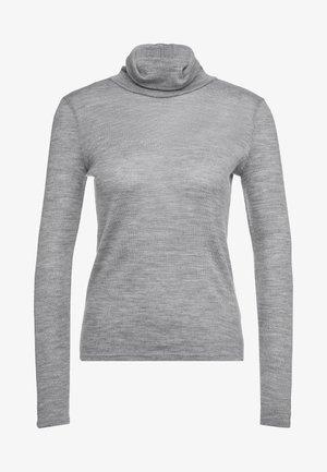 Jersey de punto - grigio melange