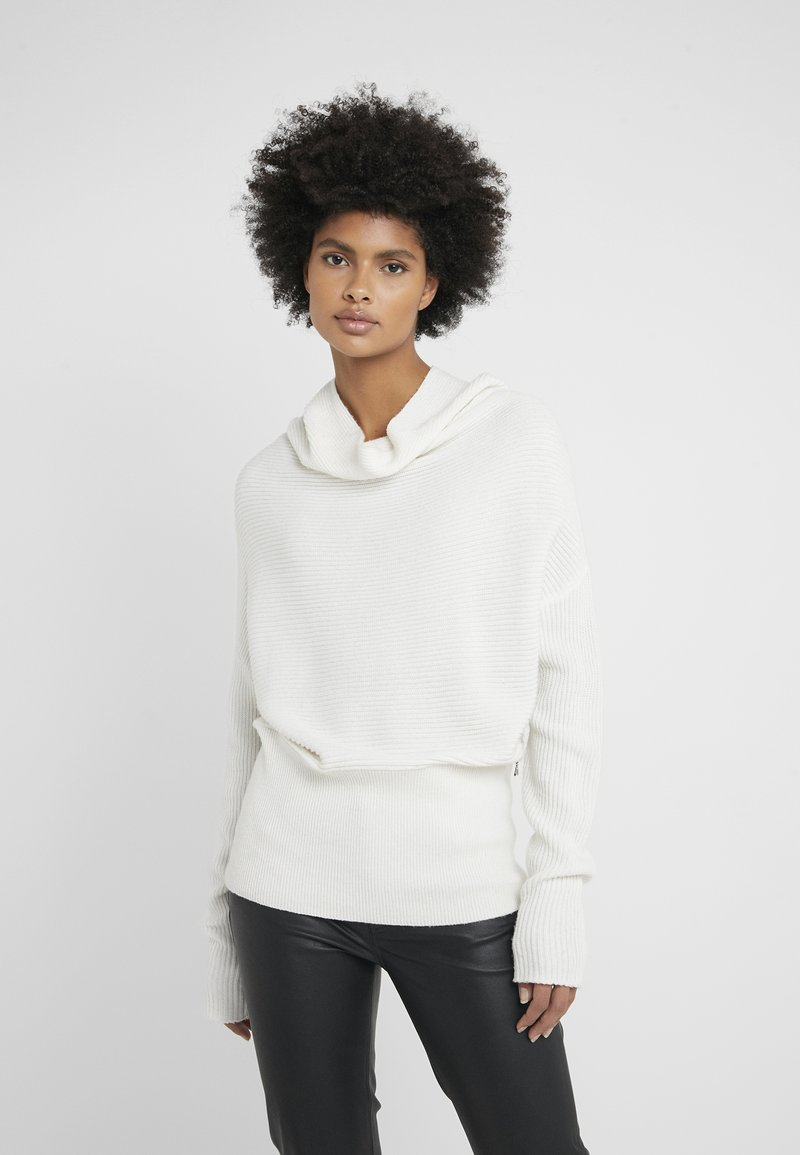 Patrizia Pepe - MAGLIA - Sweter - bianco