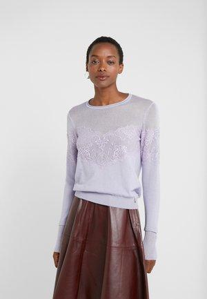MAGLIA - Stickad tröja - lavender sky