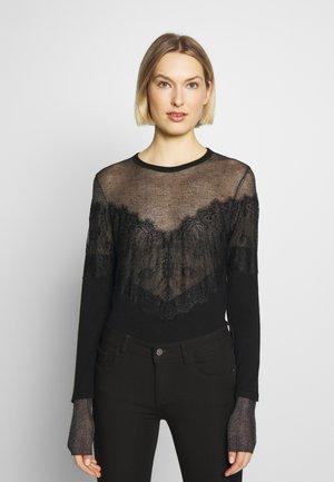 MAGLIA - Stickad tröja - nero