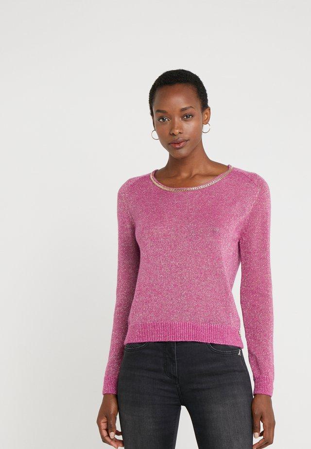 Jersey de punto - cactus pink