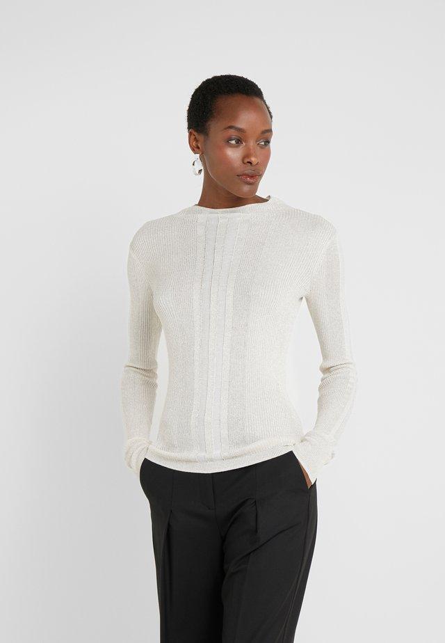 MAGLIA - Stickad tröja - statue white