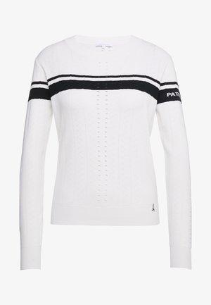 MAGLIA - Jersey de punto - bianco/nero