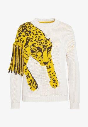 MAGLIA - Svetr - ivory/leopard