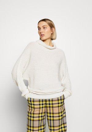 MAGLIA - Stickad tröja - bianco
