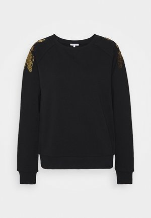 EMBELLISHED FLY - Sweatshirt - nero