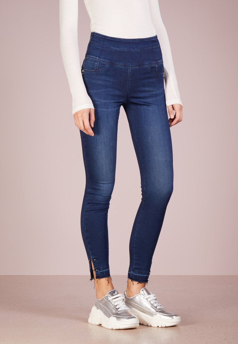 Patrizia Pepe - Jeans Skinny Fit - mid blue