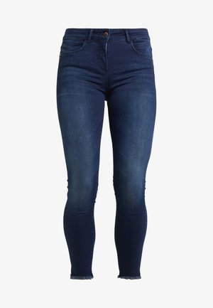 Jeansy Skinny Fit - washed blue