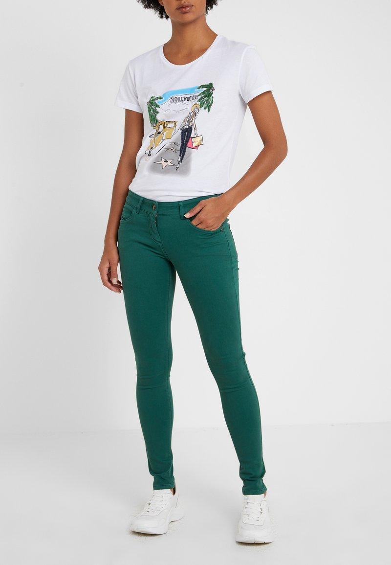 Patrizia Pepe - Jeans Skinny - self green