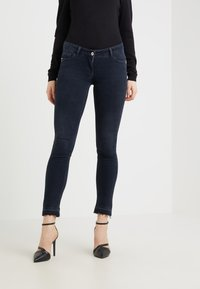 Patrizia Pepe - Jeansy Skinny Fit - blue black wash - 0
