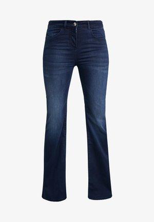 PANTALONI TROUSERS - Bootcut jeans - blue wash