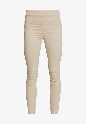 HIGH WAIST SHAPE - Jeans Skinny - antica beige