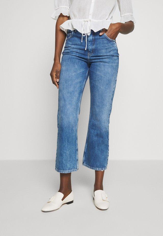 TROUSERS - Jeans bootcut - boho indigo