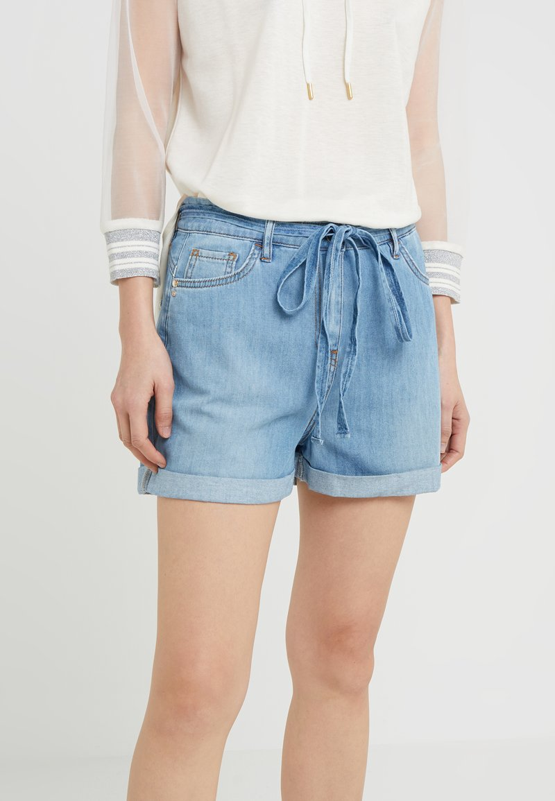 Patrizia Pepe - Short en jean - light indigo