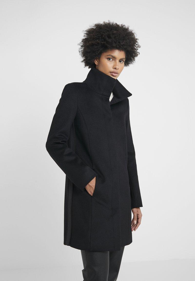 Patrizia Pepe - CAPPOTTO COAT - Abrigo corto - nero