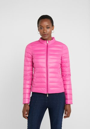 Down jacket - very berry