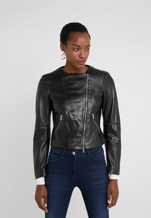 GIACCA JACKET - Giacca di pelle - nero