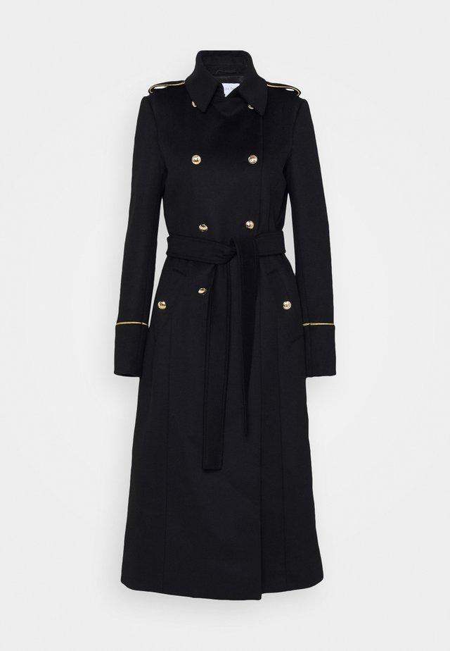 COAT - Classic coat - nero
