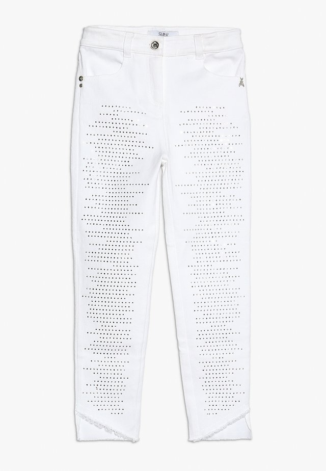 TROUSERS - Jeans Slim Fit - white