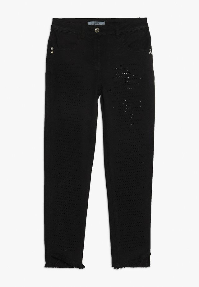 TROUSERS - Jeans Slim Fit - black