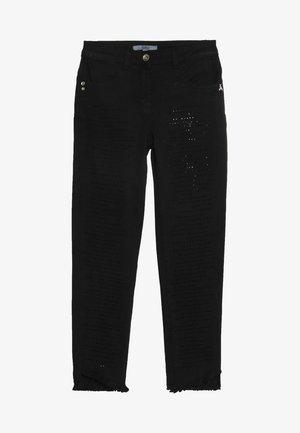 TROUSERS - Jean slim - black