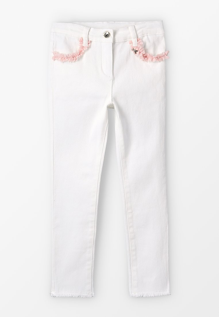 Patrizia Pepe - WOVEN TROUSERS - Jeans Skinny Fit - milk-white