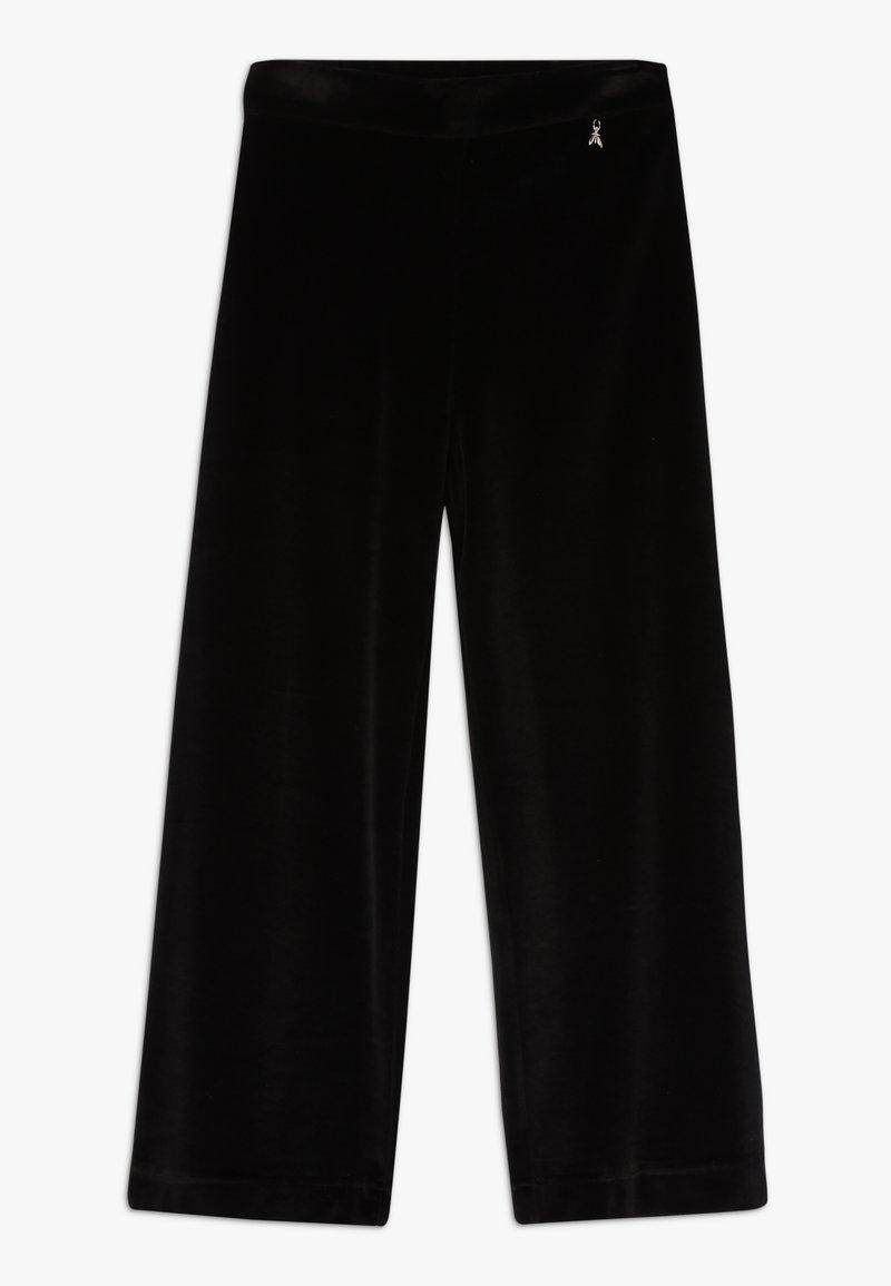 Patrizia Pepe - PANTALONE CINIGLIA - Spodnie materiałowe - nero