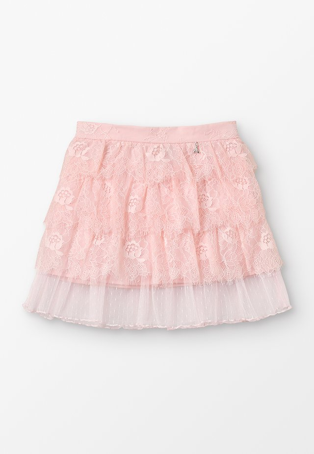 WOVEN SKIRT - Mini skirts  - light salmon pink