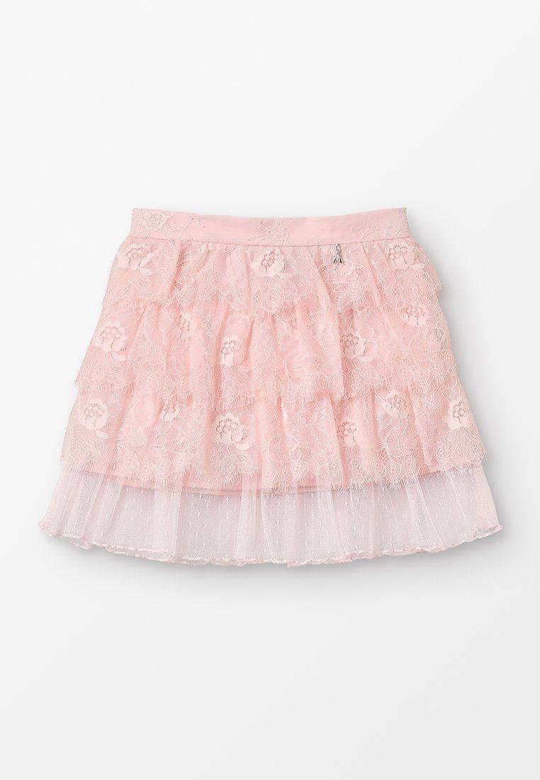 Patrizia Pepe - WOVEN SKIRT - Mini skirt - light salmon pink