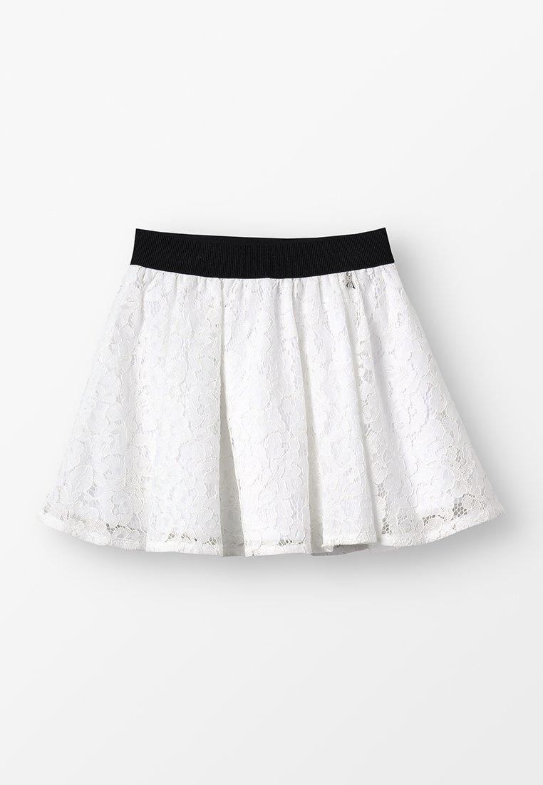 Patrizia Pepe - SKIRT - A-line skirt - white