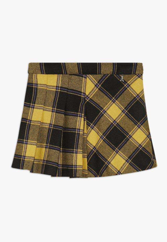 GONNA CHECK - Mini skirts  - nero