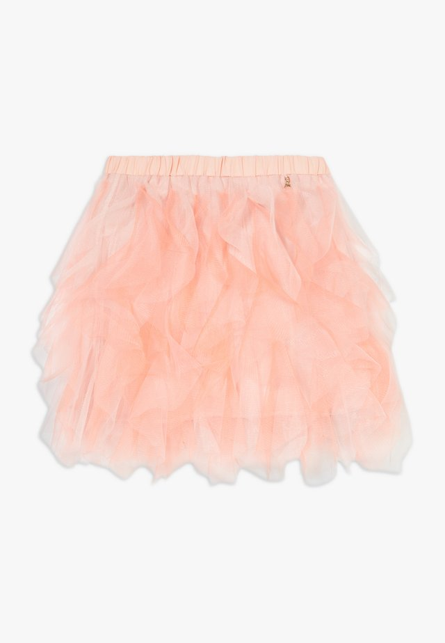 Spódnica mini - light salmon pink