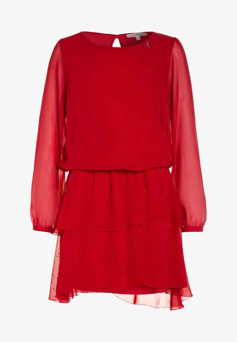 Patrizia Pepe - DRESSES - Cocktailkleid/festliches Kleid - red