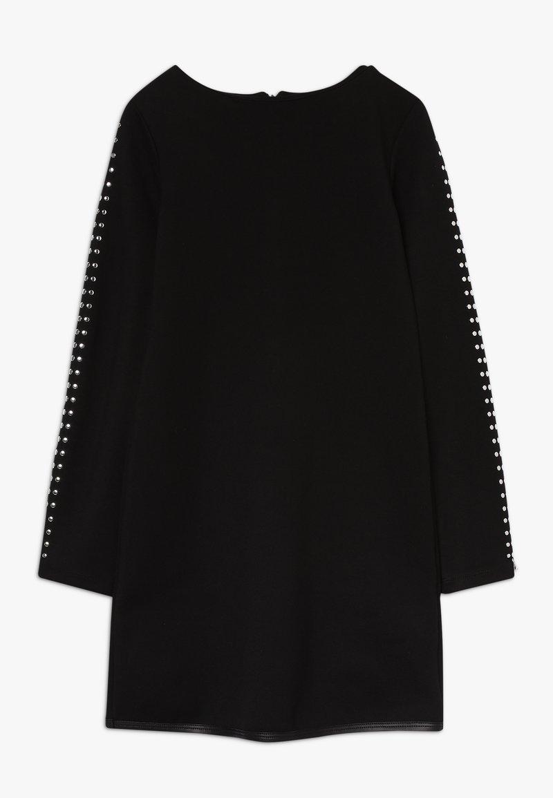 Patrizia Pepe - ABITO BORCHIETTE - Jersey dress - nero