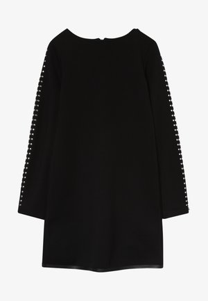 ABITO BORCHIETTE - Jersey dress - nero