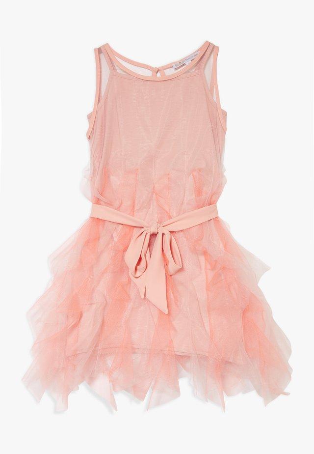 Cocktail dress / Party dress - light salmon pink