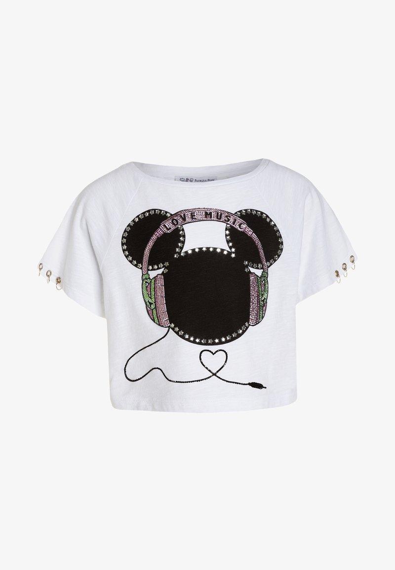 Patrizia Pepe - T-shirts print - white