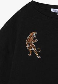 Patrizia Pepe - TIGER - T-shirt print - nero - 3