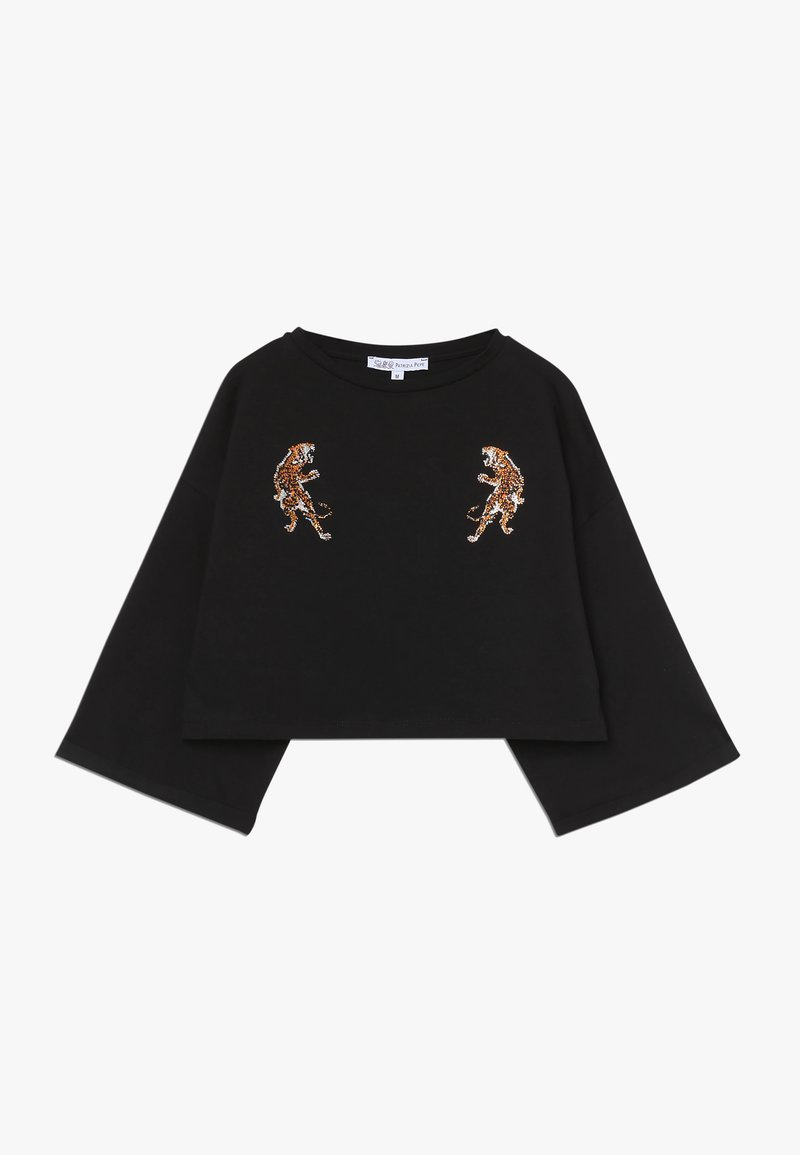 Patrizia Pepe - TIGER - T-shirt print - nero