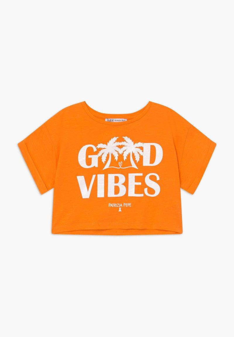 Patrizia Pepe - T-Shirt print - orange