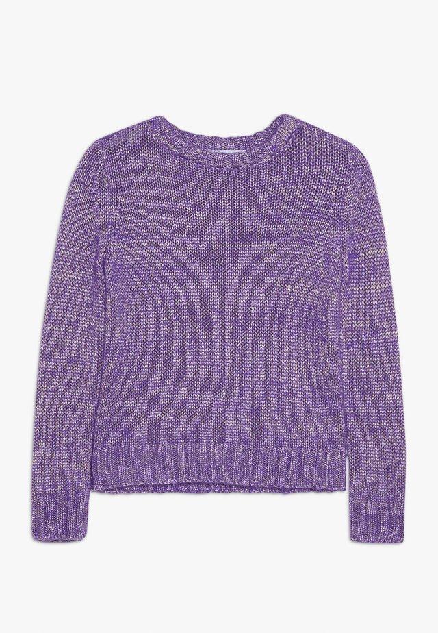 MAGLIA - Stickad tröja - viola