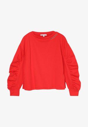 FELPA - Sweatshirts - rosso
