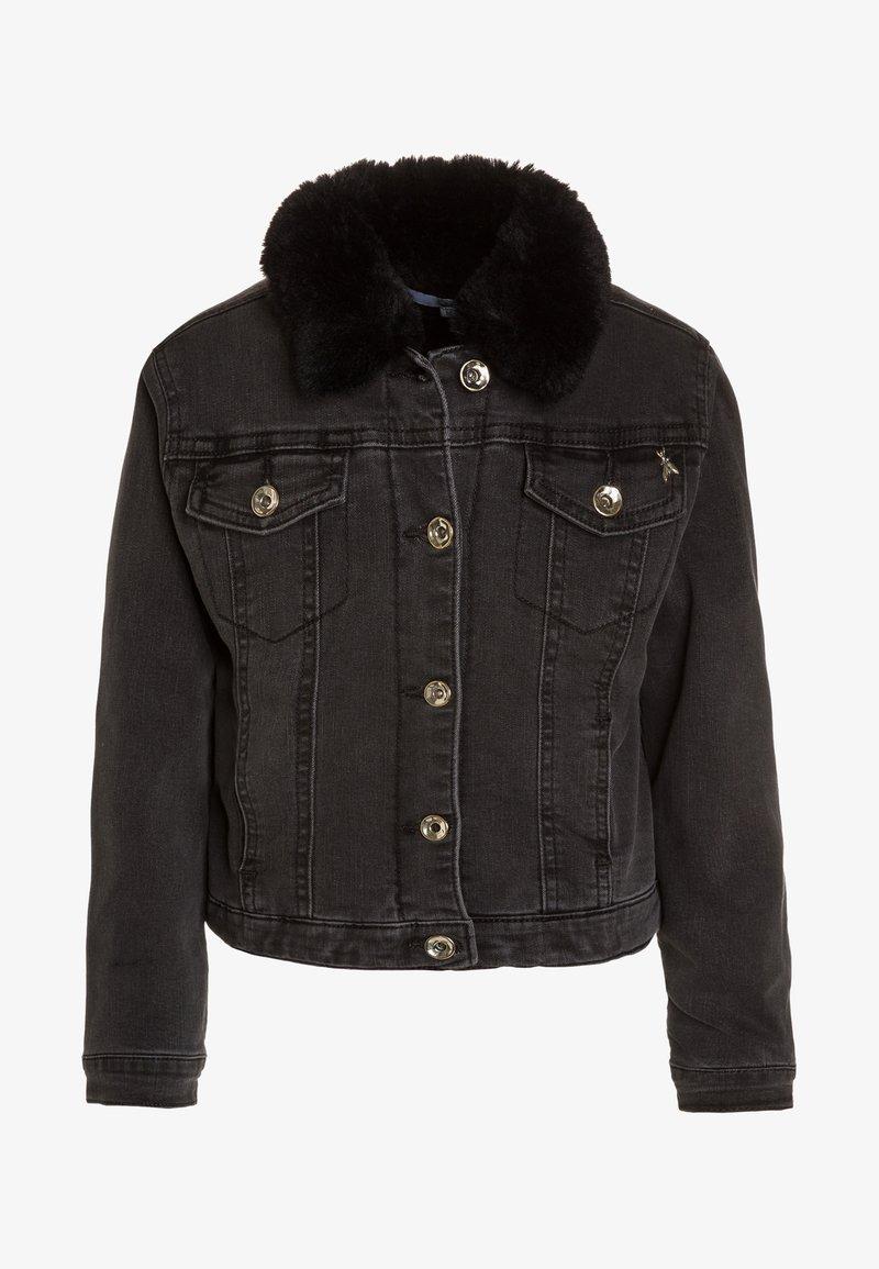 Patrizia Pepe - JACKETS - Winter jacket - black denim