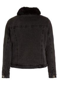 Patrizia Pepe - JACKETS - Winter jacket - black denim - 1