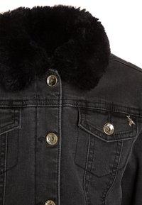 Patrizia Pepe - JACKETS - Winter jacket - black denim - 3