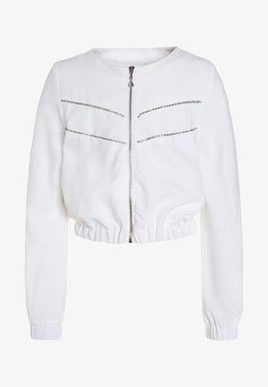 JACKET - Bomber Jacket - white